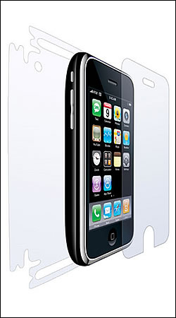 clear armor iphone 3g защитная пленка для iphone 3g case-mate