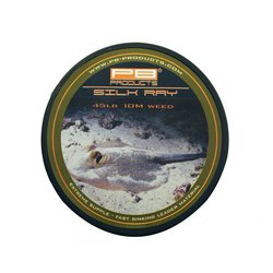 Лидкор без сердечника PB Products Silk Ray Unleaded Leader 10m 65lb Weed
