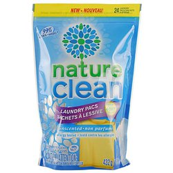 Капсулы Nature Clean Laundry Pacs Non Parfum