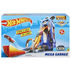 Трек Mattel Hot Wheels City Mega Garage FTB68
