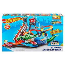 Трек Mattel Hot Wheel City Ultimate Gator Car Wash FTB67