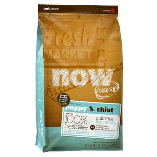 NOW FRESH (11.35 кг) Grain Free Large Breed Puppy Food Recipe