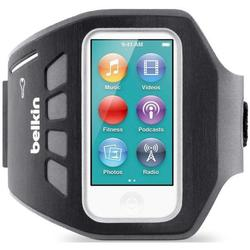 Чехол для Apple iPod Nano 7G (Belkin Ease-Fit Plus Armband F8W216vfC00) (черный)