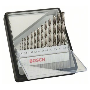 Набор сверл BOSCH Robust Line 2.607.010.538
