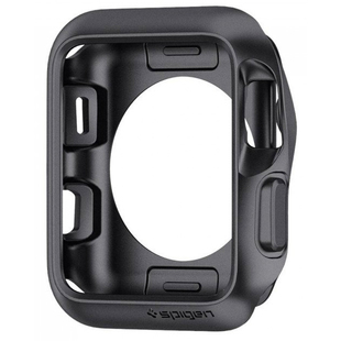 Чехол для Apple Watch series 1, 2, 3 42mm (Spigen Slim Armor 059CS22563) (серый)