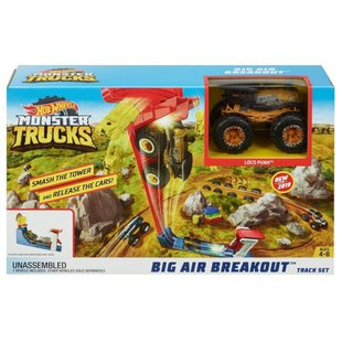 Трек Mattel Hot Wheels Monster Trucks Big Air Breakout GCG00