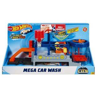 Трек Mattel Hot Wheels City Mega Car Wash FTB66