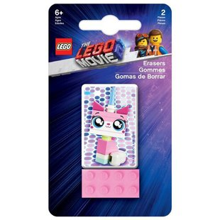 LEGO Набор ластиков Movie 2 Unikitty 2 шт